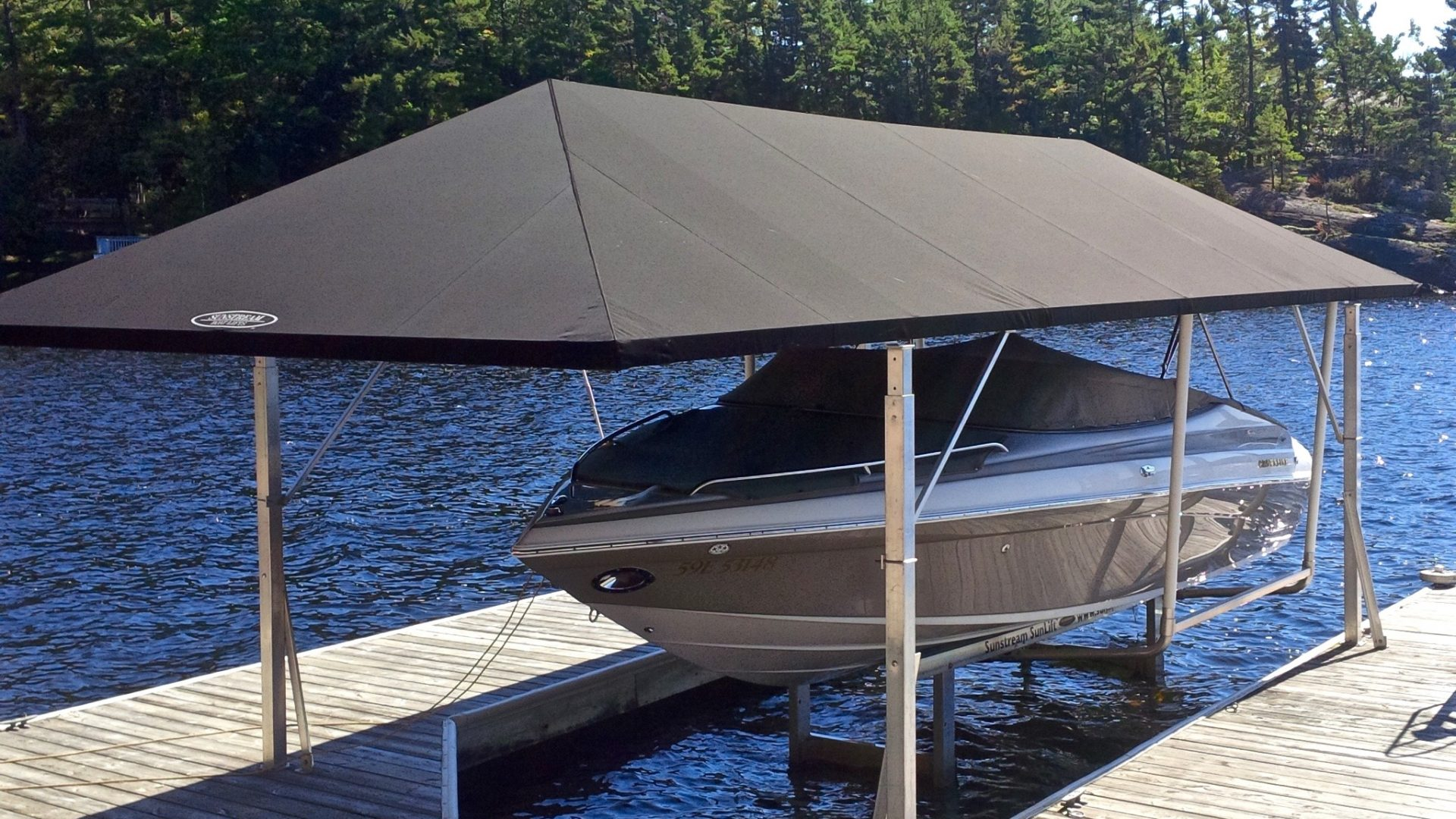 Canopies Sunstream Boat Lifts Brad Hutchinson